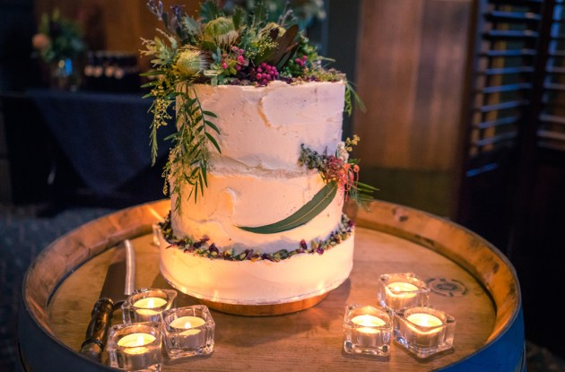 trendy wedding cakes 2018 idea of greenery wedding setting with tea candles