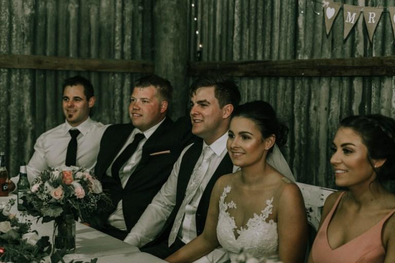 rustic barn wedding reception venue at Mount Martha The Briars Homestead Mornington Peninsula 3