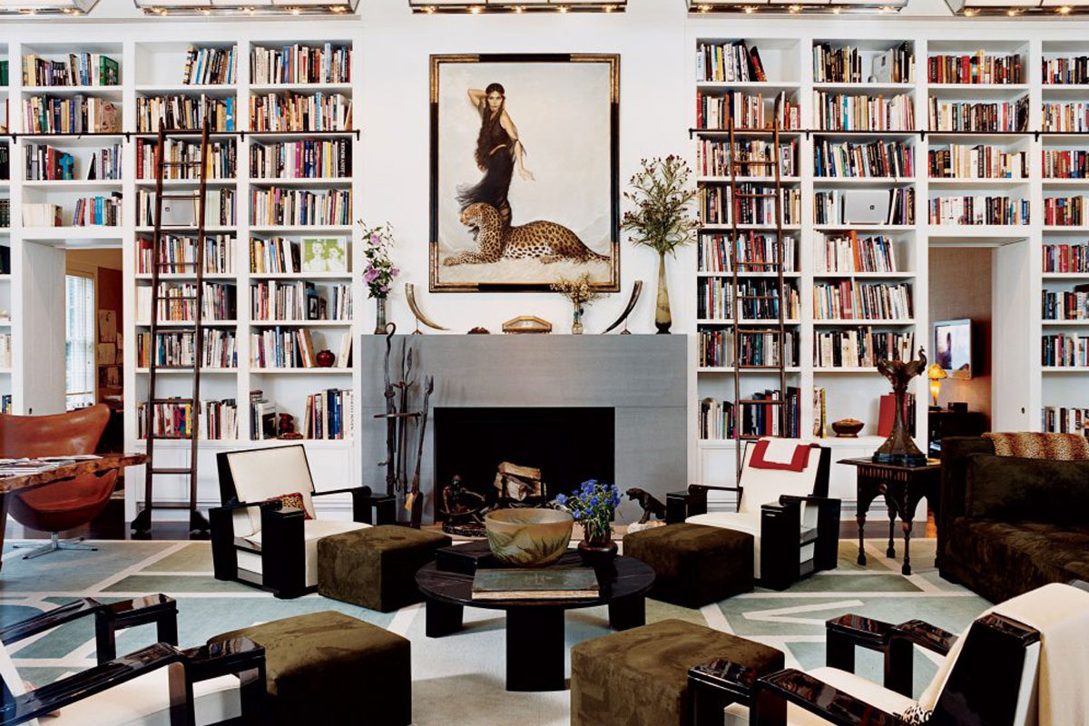 FASHION DESIGNER DIANE VON FURSTENBERG'S HOME IN CONNECTICUT // PHOTO: JAMES MERRELL