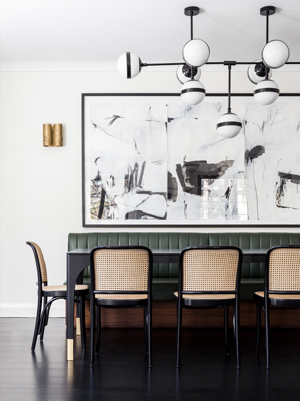 CONTEMPORARY ART GALLERY OWNER SOPHIA VANDER'S HOME // PHOTO: PABLO VEIGA