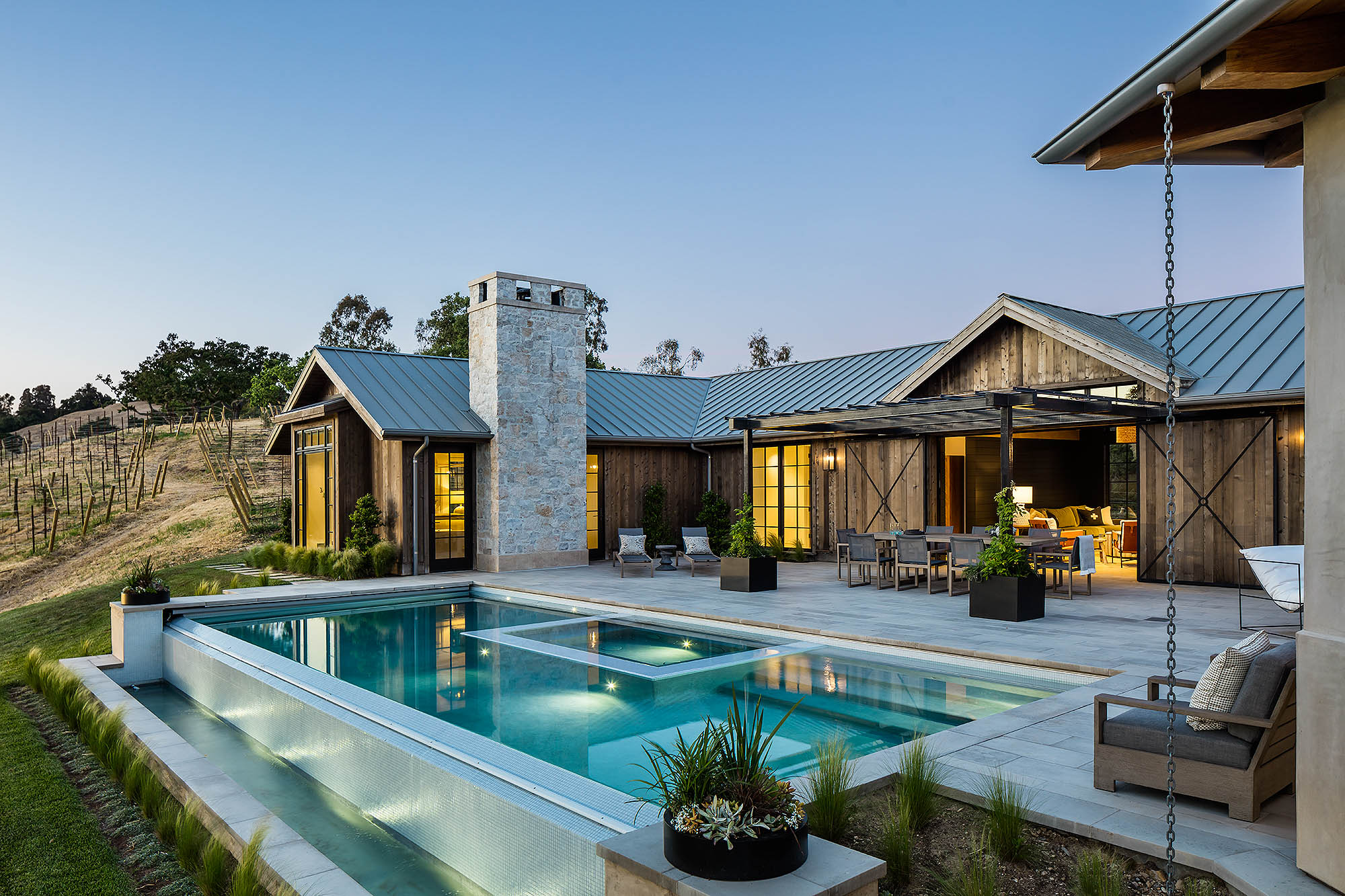 PROJECT SANTA YNEZ // PATTERSON CUSTOM HOMES // BRANDON ARCHITECTS // BLACKBAND DESIGN // MANOLO LANGIS PHOTOGRAPHY
