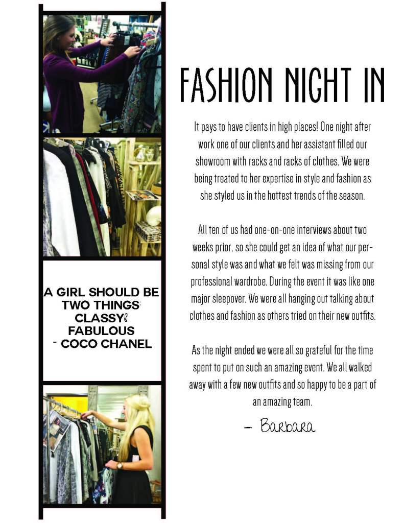 Fashion Night In