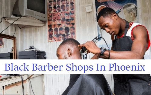 black barber shops in phoenix