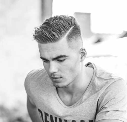 Hairstyles for men with medium hair