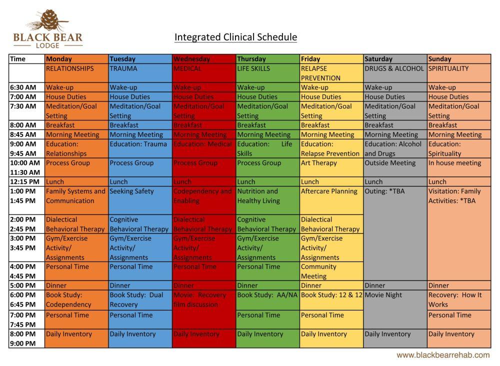 Intergrated Clinical Schedule