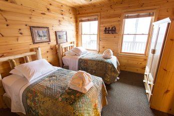 Bedroom at Black Bear Lodge