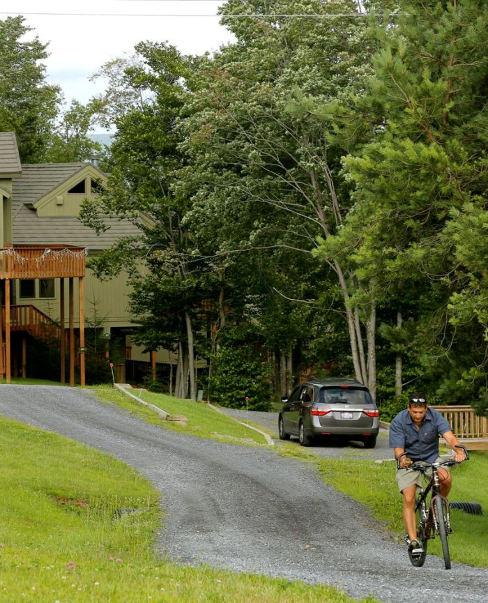 Enjoy a casual ride on our grounds or explore Canaan on road or mountain bike
