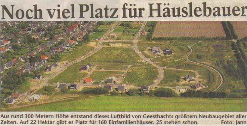 Selbst eine Geisterstadt hat mehr Häuser...