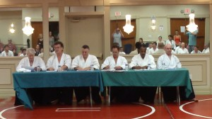 Aikido Winter Seminar 2013 Technical Committee