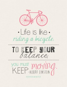 39111-Life-Is-Like-Riding-A-Bicycle
