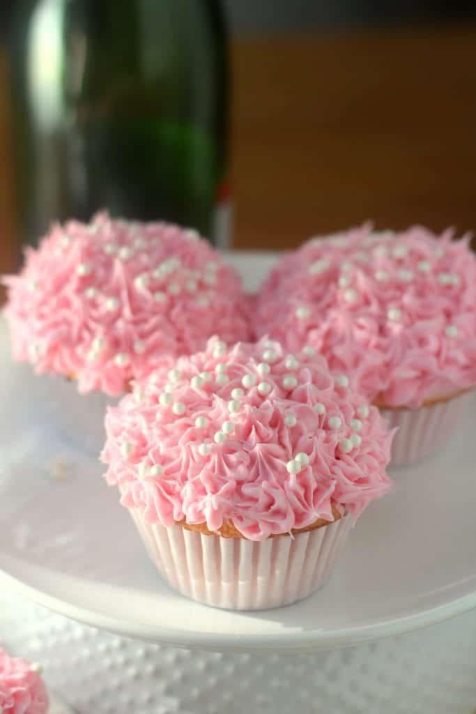 Pink Champagne Cupcakes KitchenAid Chopper Giveaway