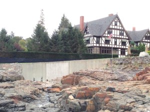 Bar Harbor mission house - ocean view