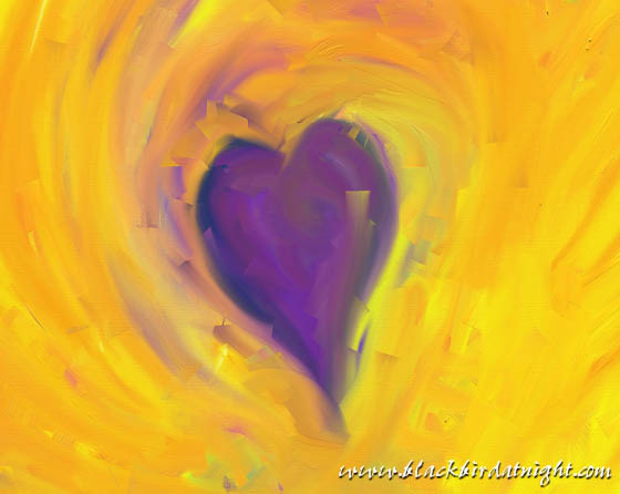 Purple Heart © 2012 Jane Waterman