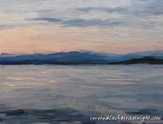 Tranquil Waters #1 © 2012 Jane Waterman