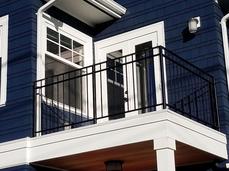 Exterior Handrail Guardrail And Balcony Seattle Wa