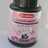 Kruidvat Quick & Easy nail polish remover review