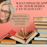 Valerie Biel on Binge Reading