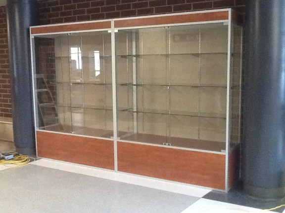 Free Standing Display Case - Frazier Elementary