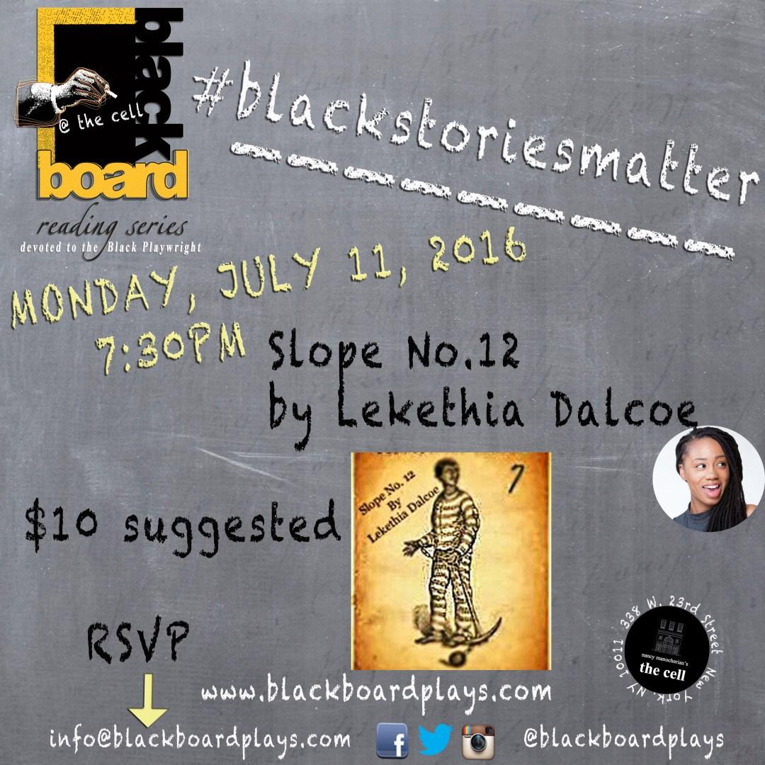 July 2016 Blackboard