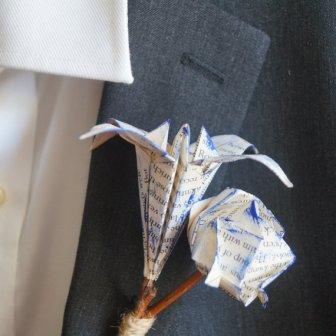 Boutonniere origami, 9.39€