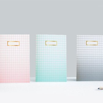Carnets pastel - ombre notebooks, 12.34€