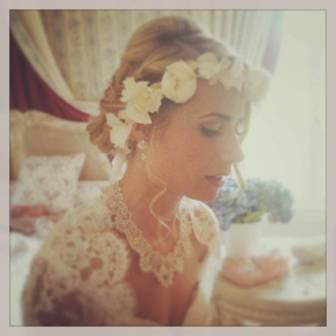 Ma couronne de fleurs - My flowers crown, sur mesure