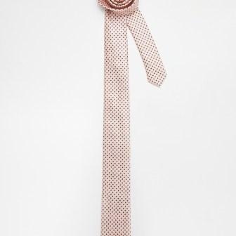 Cravate pastel pois - dots tie, 10.99€
