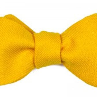 Noeud papillon jaune - Yellow bow tie, 75.12€