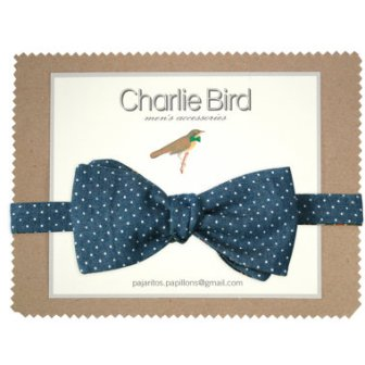 Noeud papillon pois - dots bow tie, 29€