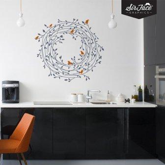 Sticker mur - wall decal, 36.15€