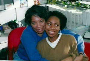 Founder Tahirah Walker with her mother, Carolyn Ayesha Brinson.