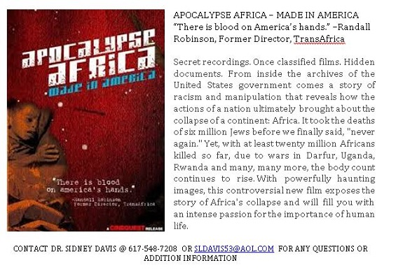 APOCALYPSE AFRICA – MADE IN AMERICA