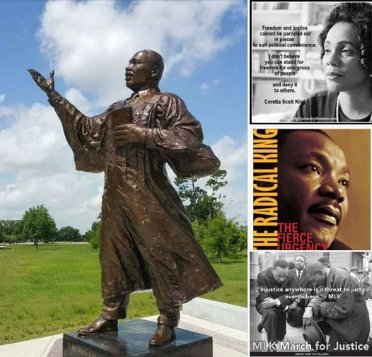 MLK collage