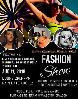Boston Caribbean Fashion Week starts