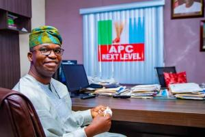 Lagos East Senatorial By-Election: Tokunbo Abiru Picks Up Nomination and Expression of Interest Forms - Blackbox Nigeria
