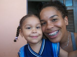 juliane and 3 year old daughter