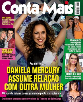 "Headline: ""Daniela Mercury assumes relationship with another woman"""
