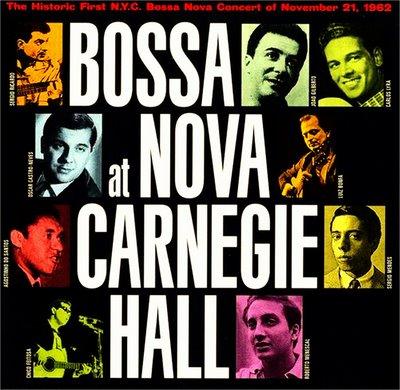 Historic Bossa Nova at Carnegie Hall concert in 1962