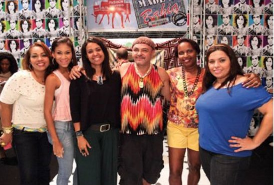 From left to right: Cibele Machado, Joice Mendes, Levite Bahia, Leila Requião, Jô Borges and Thaís Miranda