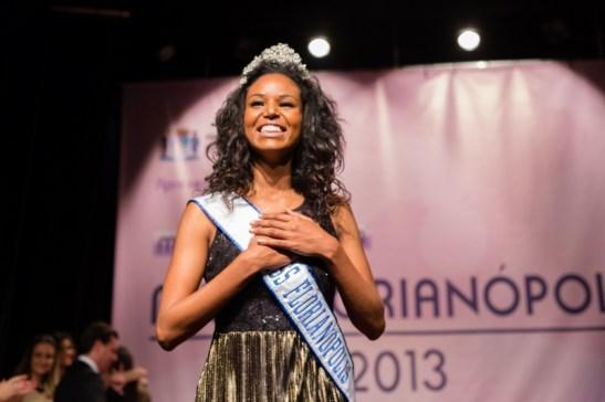 Elisa Freitas was recently elected Miss Florianópolis 2013