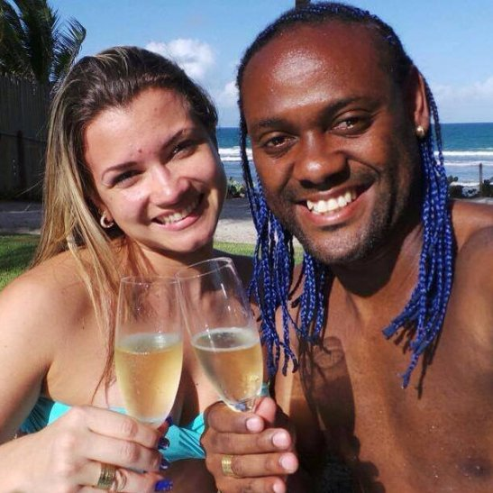 Soccer star Vagner Love's new relationship provoked a variety of online comments