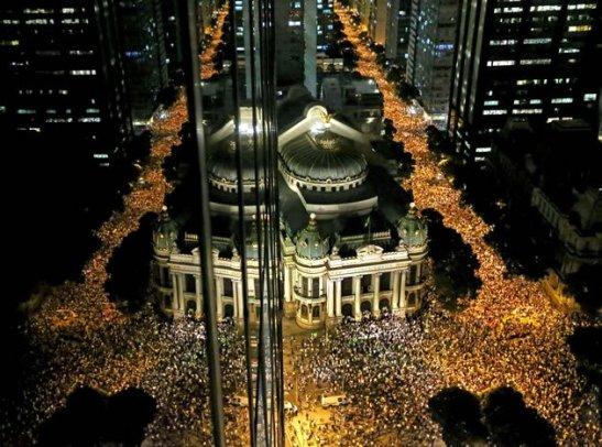 Avenida Rio Branco in downtown Rio de Janeiro