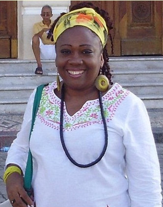 Halda Regina of the Black Women's Institute of Piauí - Ayabás