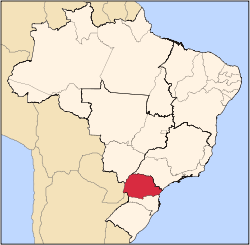 State of Paraná in southern Brazil