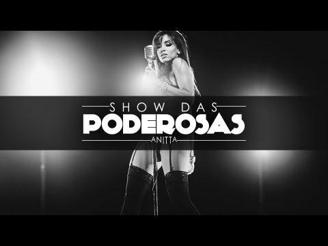 "Singer Anitta in the video for the song ""Show das Poderosas"""