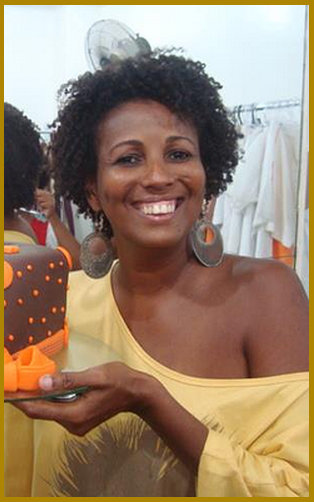 Madá Negrif, creator of the Negrif fashion line based in Salvador, Bahia