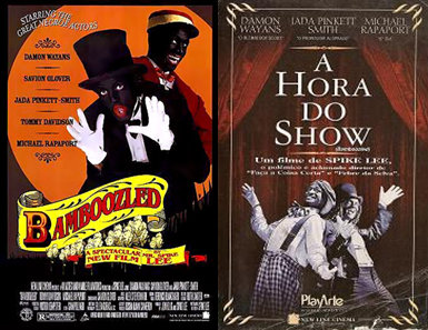 """American director Spike Lee's film """"Bamboozled"""" was released as """"A Hora do Show"""" in Brazil"""