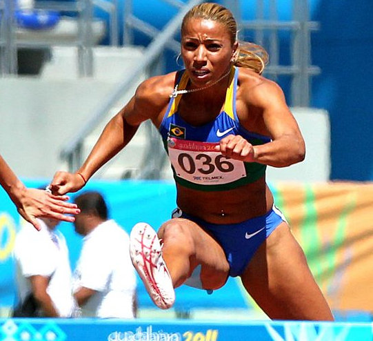 Track and Field star Lucimara Silvestre
