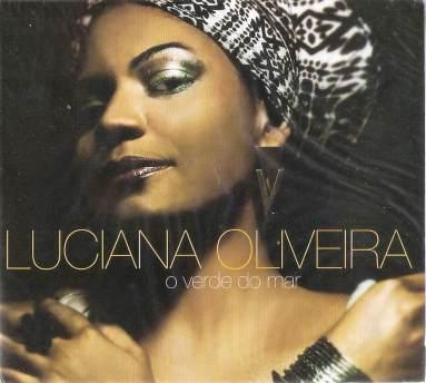 "Cover of Luciana's debut CD ""O Verde do Mar"""
