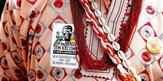 """For a Brazil without racism"": 10th March of Black Consciousness. November 20th, 2013"